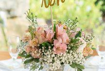 Blush chic wedding
