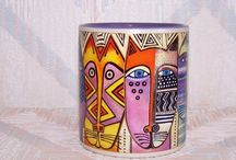 art on mugs