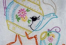 Embroidery and Cross Stitching / A variety of Embroidery and Cross Stitching / by christine Fortier