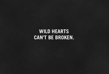 Wild freedom / Wild hearts can't be broken