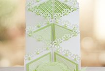 Tattered Lace Folding cards