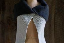 Knitting patterns - chalecos