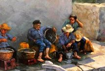 "Oil on Canvas / Oil on Canvas Oil Paintings by Yannis Koutras ""YannisArt"""