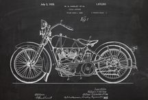 MOTORCYCLE Patent Drawing