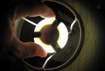 LEDs / Safe and energy-efficient lighting from Light Emitting Diodes.  Contains no mercury and last almost forever.