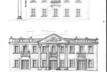 Nasze projekty / Nasze projekty to rysunki, szkice, wizualizacje dekoracji budynków, wnętrz etc.