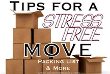 Moving Tips / by Kelly Stagg Marks
