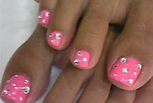 pedicure nail art