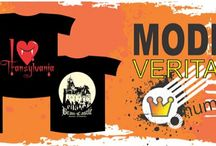 Tricouri personalizate Romania / Tricouri imprimate cu imagini reprezentative din Romania, castelul Bran, Coloana Infinitului, I love Transylvania, Vlad Tepes