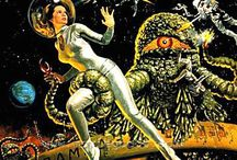Geek Retro Crazy / hilrious and/or gorgeous vintage sci fi and fantasy art