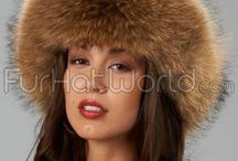 Beautiful Women's Fur Hats For Winter / Stay luxuriously warm while looking like royalty wearing any one of these beautiful fashion fur hats. These hats are made with only the finest quality fur and superior craftsmanship.  / by Fur Hat World
