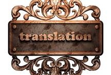 Translation/Traducción / by Yolanda Secos