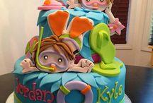 Food - Celebration cakes / by Faye Charlesworth