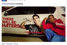 adidas / #therewillbehaters