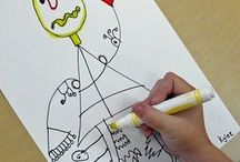 First Grade Art Ideas / by The Classroom Creative