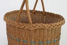 PP nákupní košíky / Pletení z papíru košíků a tašek