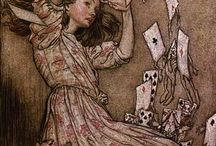 Arthur Rackham Illustrations / by Gelrev Ongbico