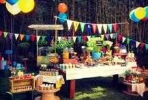 Festa havaiana do nenê