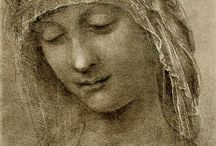 Art: Leonardo da Vinci / Italian painter 1452-1519. High Renaissance.