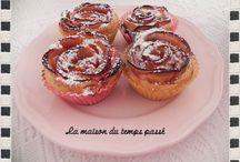 """Côté """"Mes recettes de cuisine"""" / Ce sont les photos de mes desserts, plats et autres...."""