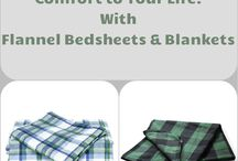 The Flannel Bedsheets, Blankets or Dresses: Add Comfort to Your Life!