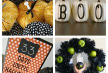 Fall Pumpkins / Pumpkins go far beyond Halloween. Use them to decorate your home when the leaves start falling!