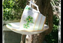 Upcycled, Repurposed, Restyled Home & Garden Decor / Handmade Designs by Heidi Wholeness Creations