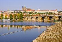 Prague / City of Prague in Czechia (Czech Republic): landmarks, monuments, historic architecture, cityscapes, skylines, tourist best sights and attractions.