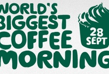 Coffee Morning / The World's Biggest Coffee Morning is Macmillan Cancer Support's biggest fundraising event. We ask people across the UK - and sometimes further afield - to hold a coffee morning, where donations on the day are made to Macmillan. Find out more here http://coffee.macmillan.org.uk/Home.aspx