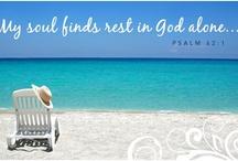 Beach Scenes/Bible Verses