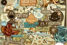 Digital Scrapbooking Animals Kits / Board dedicated to digital scrapbooking kits - animals / by Ania Kozlowska-Archer