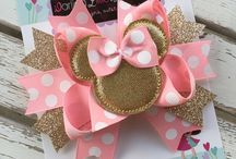 Mickey mouse bows