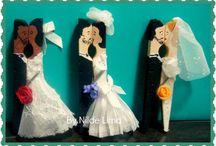 Casamento enfeites