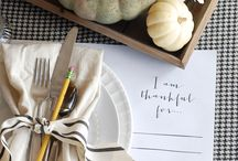 Gather / Hospitality, dinner parties, Thanksgiving / by Stephanie Weers