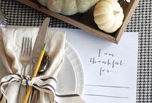 Thanksgiving Things.