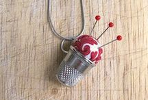 sewing inspired jewelry