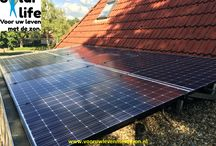 Geplaatste zonnepanelen / Zonnepanelen zonder investering vooraf! Solar Life voor uw leven met de zon.