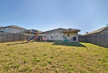 Now Available Home in Kyle, Texas Offered at $139,000 / 132 Onyx Lake Drive in the Kyle, Texas subdivision of Southlake Ranch is offered at $139,000.  This 3 bed 2 bath home features covered front and back patio, office with French doors, and kitchen dining combo. Lots of windows providing the home with natural light. Kitchen boasts lots of storage and counter space. Master includes full bath and large closet. Huge backyard features extended covered patio and backs to greenbelt making it great for entertaining.