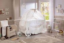 Serie Softy: Cuna Fairy / Habitación de bebes. Cuna Fairy de la serie Softy de Cilekspain, dormitorios temáticos. Una cuna carroza preciosa para tu bebe.