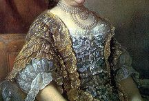 2-18.century=Fashion and bohemian monarchs / The fashion and life in 18 th. century