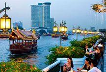 Ciudades Asiáticas / Visite en un mismo viajes las ciudades enigmáticas de Tokio, Hanoi y Bangkok. Vive una experiencia inolvidable.