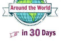 Classroom Around World Theme