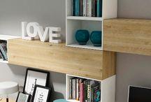 Mobiliario Salon / #furniture #livingroom #living #room #deco #decoration #muebleauxiliar #mobiliario #estanteria #aparador www.exojo.com
