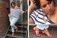 Fashionably sensible curves / Plus size fashion chick and fabulous