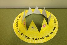 Bible Crafts / Biblical crafts you can make with your kids