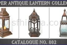 Copper Antique Lanterns