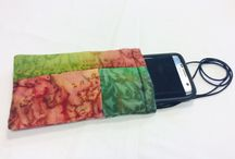 Hand Painted Silk Phone Cases