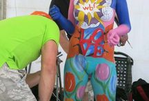 Dressed by art / Mijn Bodypaint perikelen