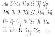 Schriften Lettering