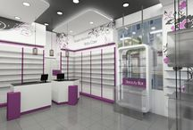 Pharmacy, Angelica Sereti / Fokies, Chalkidiki, Greece...  Pharmacy Design   Retail Design   Store Design   pharmacy Shelving   Pharmacy Furniture   Store Design by FORMApouranis